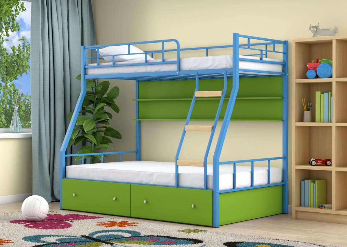 было модные двухъярусные кровати фото существует множество